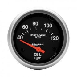 Autometer température d'huile 67mm