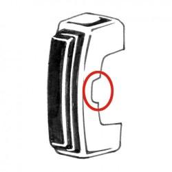 Butoir pare-chocs Cox à partir de 1968 avec caoutchouc de pare-chocs