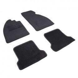 Kit tapis de sol 4 pièces Cox noir