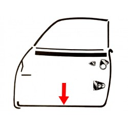Joint de porte droite Karmann-Ghia