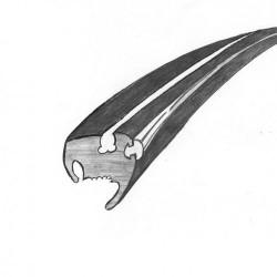 Joint vitre arrière Deluxe récent à partir de 1972