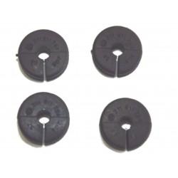 Passe fil caoutchouc pour tuyau frein rigides