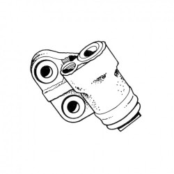 Cylindre de roue avant Combi de 1964 à 1970 droite