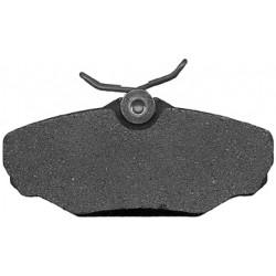 Plaquettes pour kit de freins à disque arrières