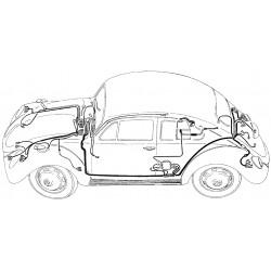 Faisceau électrique Cox de 1954 à 1955