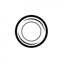 Joint de ferrure supérieure pare-chocs jusqu'en 1967