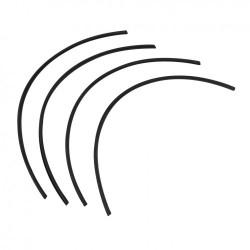 Joints entre butoir et pare-chocs Karmann-Ghia jusqu'en 1971