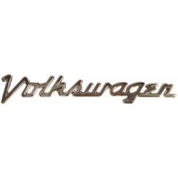 Monogramme Volkswagen sur capot avant en cursif