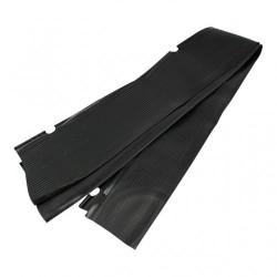 Tapis marche-pied noir