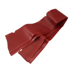 Tapis marche-pied rubis rouge