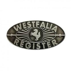 Plaquette tableau bord Westfalia Register