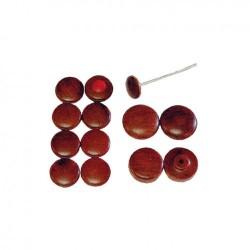 Bouton bois de rose tableau de bord Flat4 à partir de 1968 13 pièces