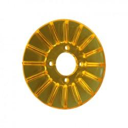 Couvre dynamo/coiffe jaune