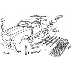 Renfort Karmann-Ghia Cabriolet gauche