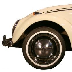 """Flanc blanc étroit pour pneu 16"""""""