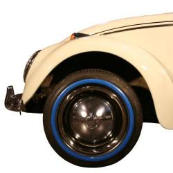 """Flanc bleu étroit pour pneu 14"""""""