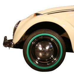 """Flanc vert étroit pour pneu 14"""""""