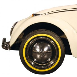 """Flanc jaune étroit pour pneu 13"""""""