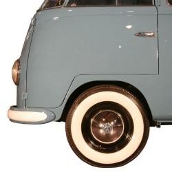 "Flanc blanc large pour pneu 15"""