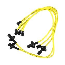 Câbles de bougies cuivre jaunes