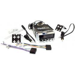 autoradio Retro Sound modèle ZUMA avec boutons chromés