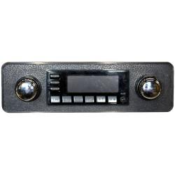 kit facade noire embases de boutons noires boutons chromés pour cox de 1968 à 1985