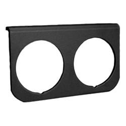 support noir sous tableau de bord de manomètre diamètre 67mm 2 trous