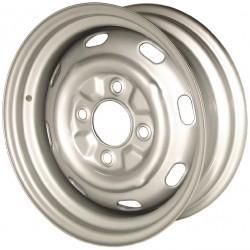 """Jante type 356 peinte en gris 5,5x15"""" 4x130 ET 25"""