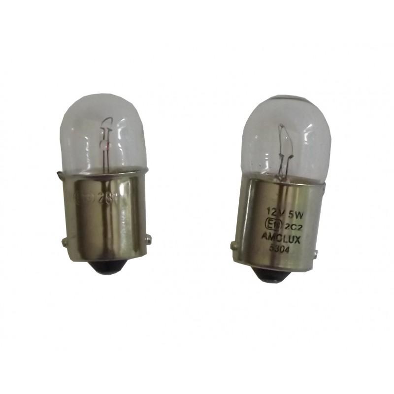 2 Ampoules 12 volt 5W