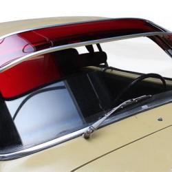 Pare-soleil rouge plexi Karmann-Ghia