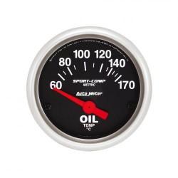 Autometer température d'huile 52 mm