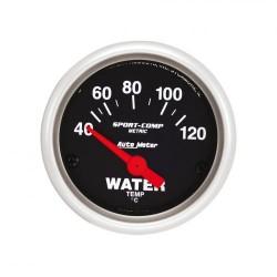 Autometer température d'eau 52 mm