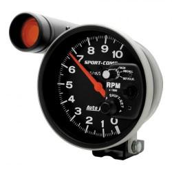 Autometer 125 mm 10000 RPM S.L. & memoire