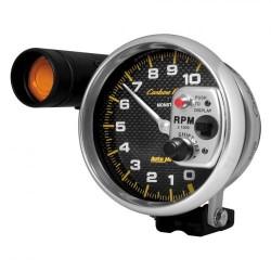 Compte-tours Autometer 125 mm carbon 10000 RPM S.L