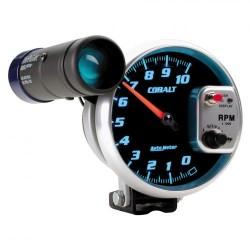 Compte-tours Autometer 125 mm cobalt 10000 RPM S.L