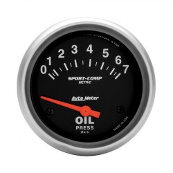 Autometer pression d'huile 67mm