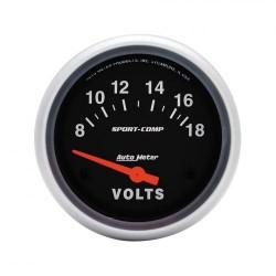 Autometer voltmètre 67 mm