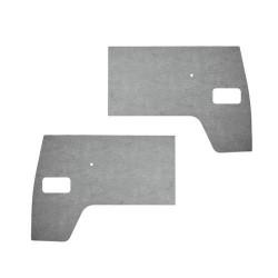 Panneaux de porte avant PVC gris Combi split de 1950 à 1961