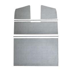 Panneaux protection ciel de toit pick-up double cabine plastiquex gris Combi split de 1958 à 1967