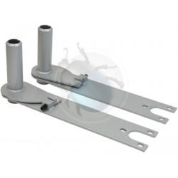 Lames de suspension réglable pour train arrière à trompette avec barre de 675 mm