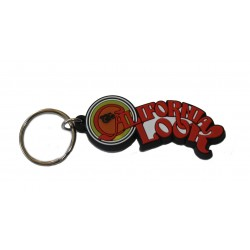 Porte clef California Look rouge