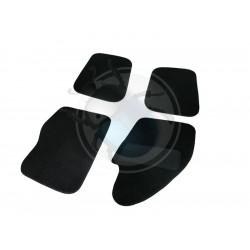 Couvre tapis de sol 4 pieces noir TMI