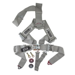 Ceinture securité 5 points gris CROW