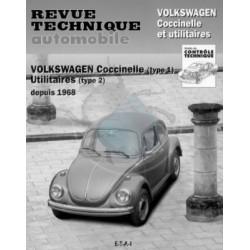 Revue technique automobile Cox et Combi à partir de 1968