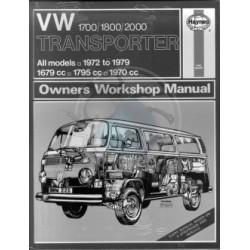 Haynes vw Combi de 1968 à 1979 1700/1800/2000