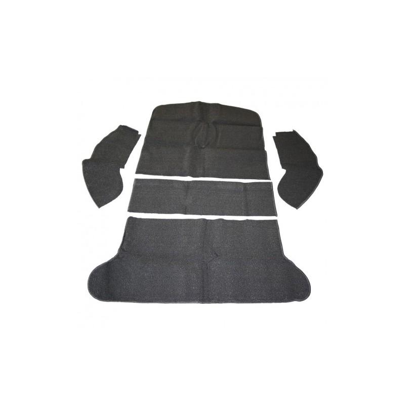 Tapis coffre arrière 1973 à 1976 noir