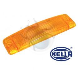 Verre clignotant orange à partir de 1975 Hella