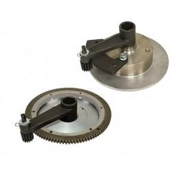 Démultiplicateur de force pour démontage tambour et volant moteur