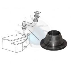 Joint de goulotte bocal lave-glace t25 vw 1l6 à 2l1 et diesel de 05/1979 à 07/1992