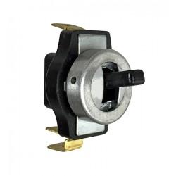 Interrupteur de plafonnier noir (211 947 511C) pour Combi Split de 03/1955 à 07/1967